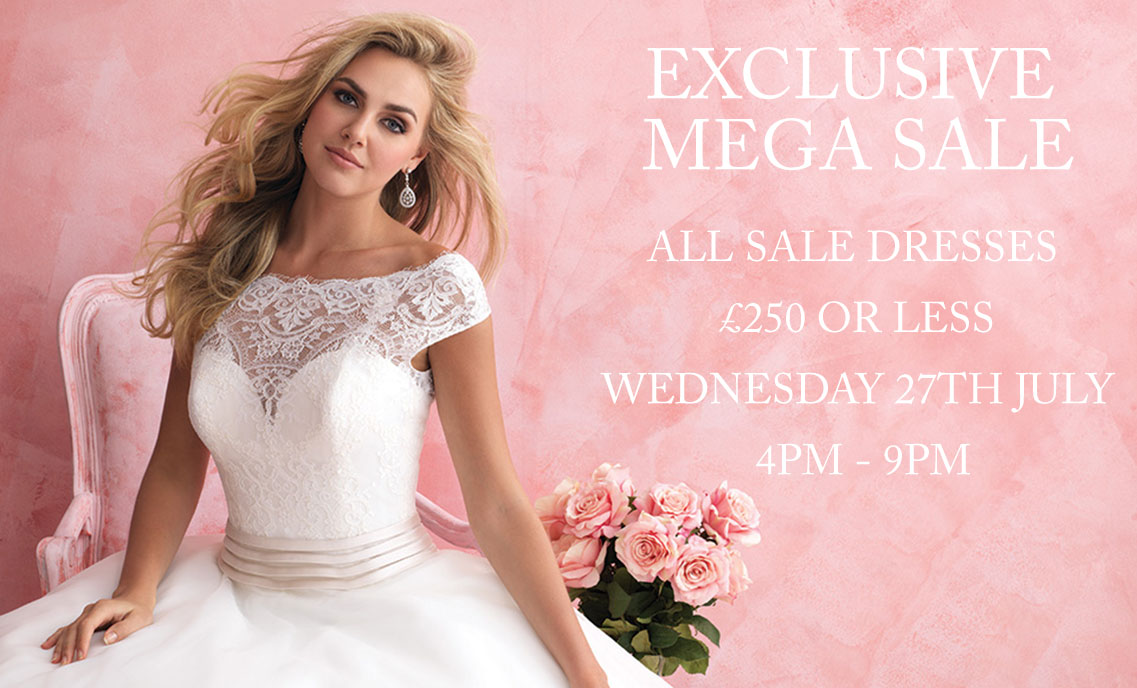 Mega Wedding Dress Sale Evening Turner Pennell