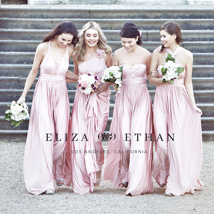 Eliza And Ethan Bridesmaids Turner Amp Pennell Bridal